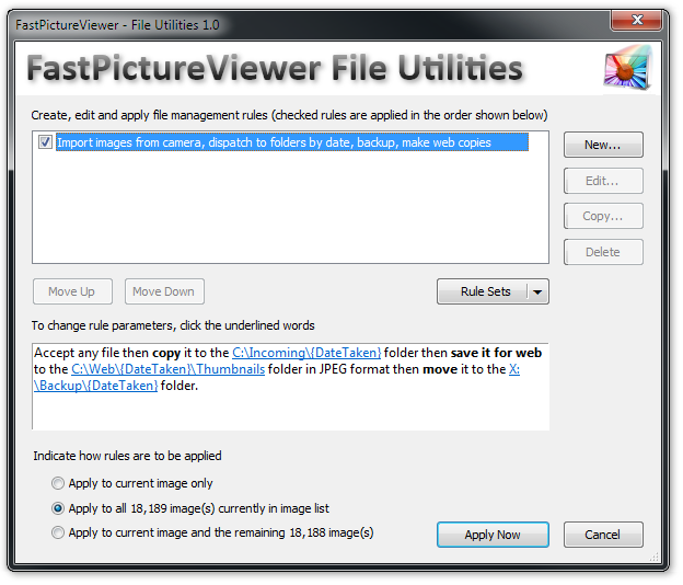 Batch File Utilties Plug-In 1.0