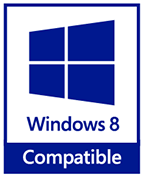 Compatible with Windows 8 Logo
