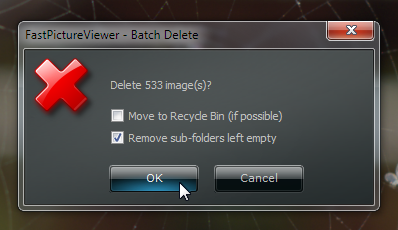 Batch Delete Function (Confirmation Dialog)