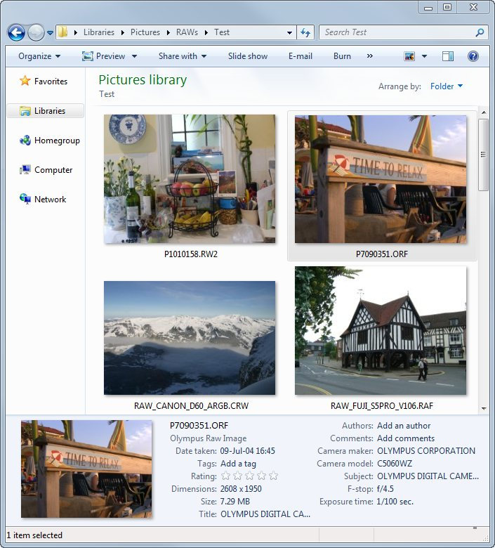 Click to view FastPictureViewer Codec Pack 64 bit screenshots