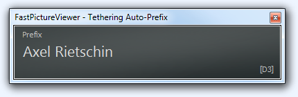 FastPictureViewer Tethering Auto-Prefix