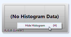 Hide Histogram