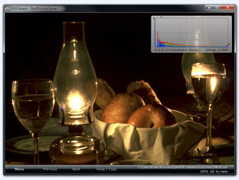 FastPictureViewer Professional + Codec Pack in Action: OpenEXR 64bpp screenshot, running on Windows 7
